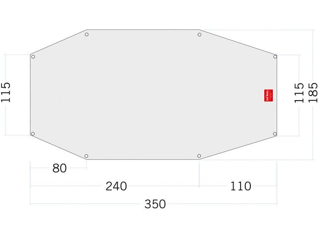 Tatonka PE Arctis 3 Floor Sheet 350x115/185cm